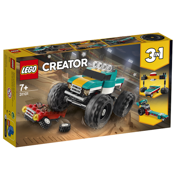 Image of Monstertruck - 31101 - LEGO Creator (31101)