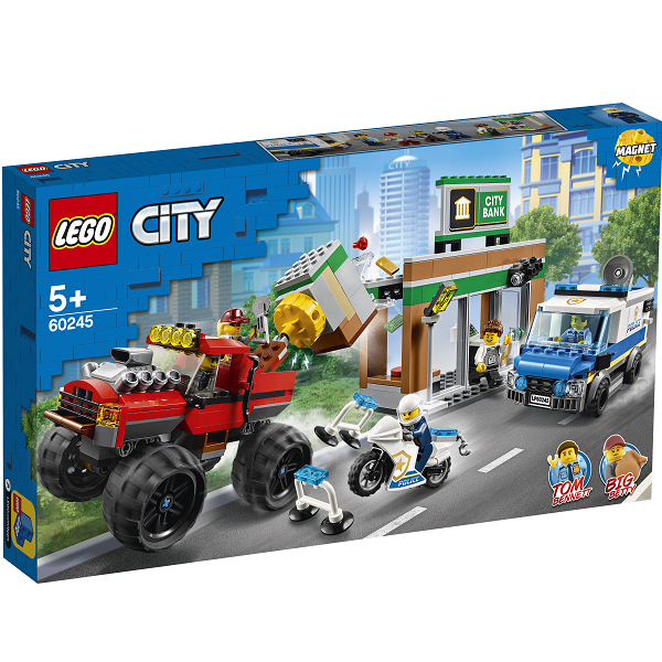 Image of Monstertruck-kup - 60245 - LEGO City (60245)