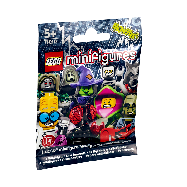 Image of Monstre, serie 14 - 71010 - LEGO Minifigures (71010)