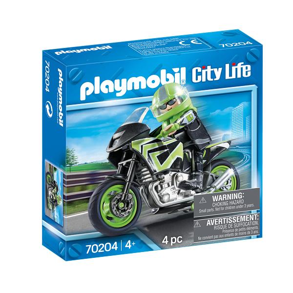 Image of Motorcykeltur - PL70204 - PLAYMOBIL City Life (PL70204)