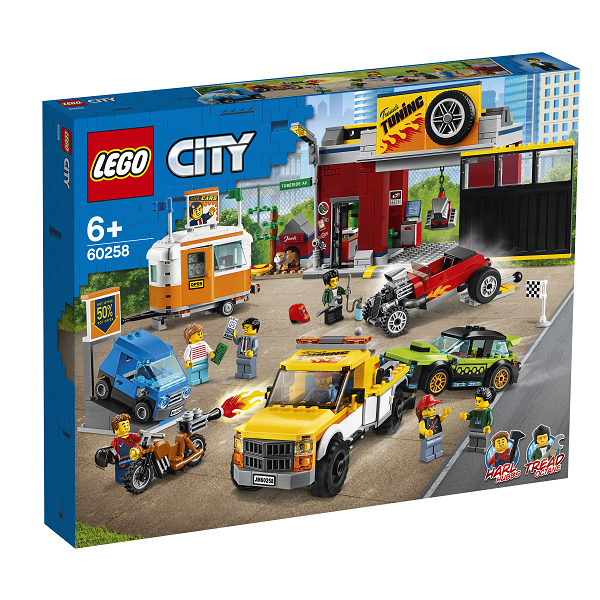 Image of   Motorværksted - 60258 - LEGO City