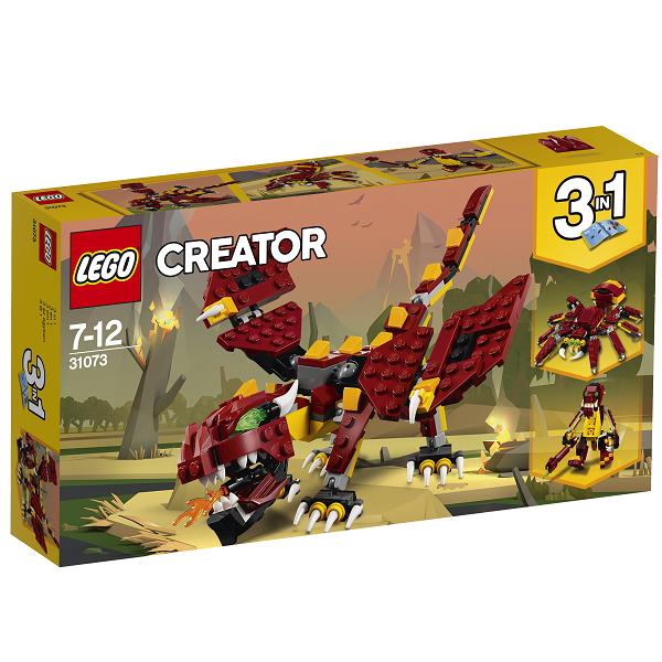 Image of Mytiske væsner - 31073 - LEGO Creator (31073)