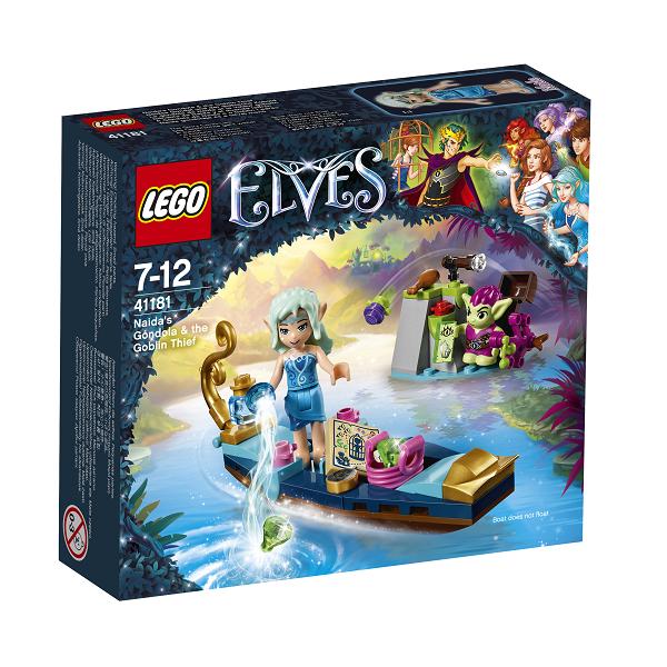 Naidas gondol og gnomtyven - 41181 - LEGO Elves
