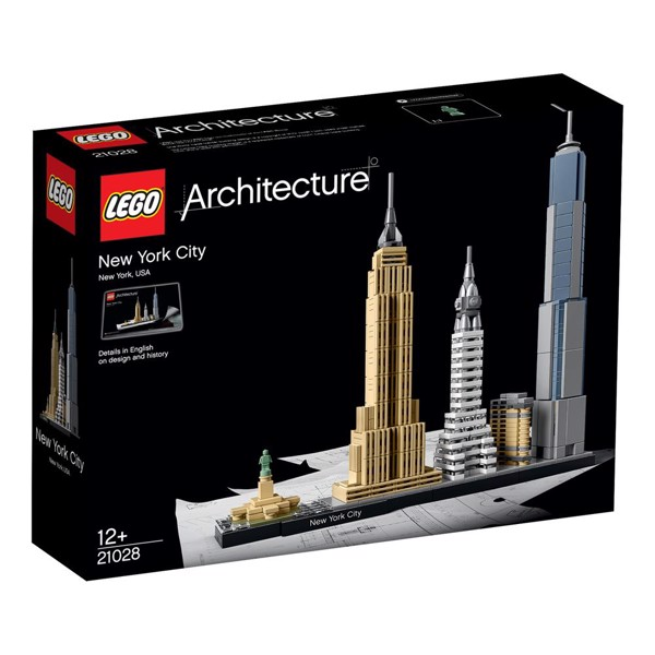 Image of New York City - 21028 - LEGO Architecture (21028)