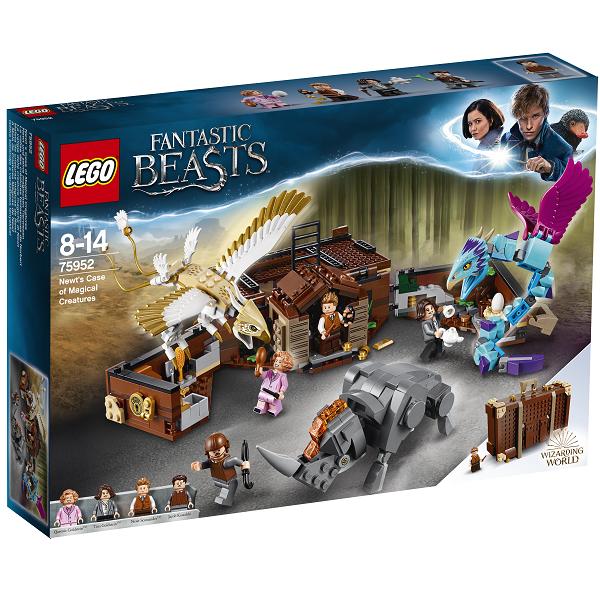 Newts kuffert med magiske væsner - 75952 - LEGO Harry Potter