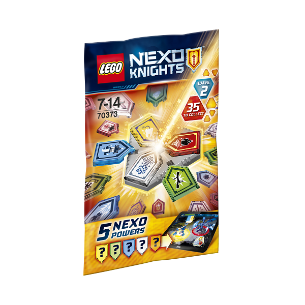 Image of NEXO kombikræfter Bølge 2 - 70373 - LEGO Nexo Knights (70373)