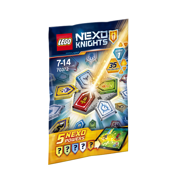 Image of NEXO kombikræfter Bølge 1 - 70372 - LEGO Nexo Knights (70372)