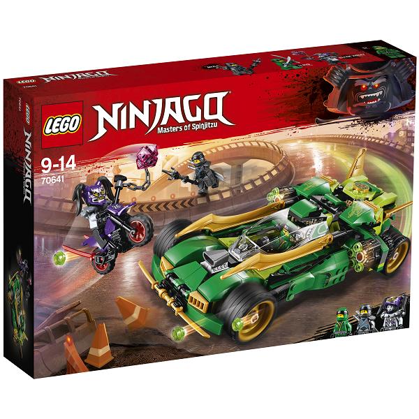 Ninja-kampkøretøj - 70641 - LEGO Ninjago