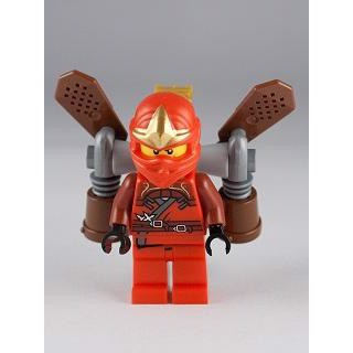 Image of Kai ZX - Ninja Rocket Pack (Ninjago 037)