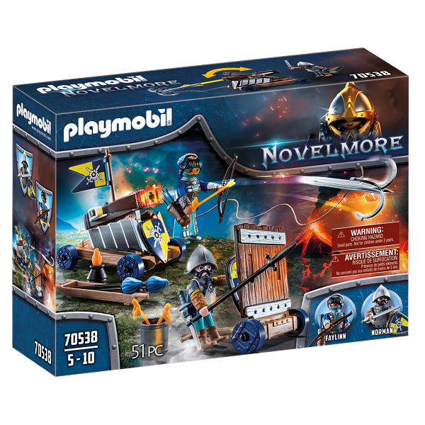Image of Novelmore angrebstrop - PL70538 - PLAYMOBIL Knights (PL70538)