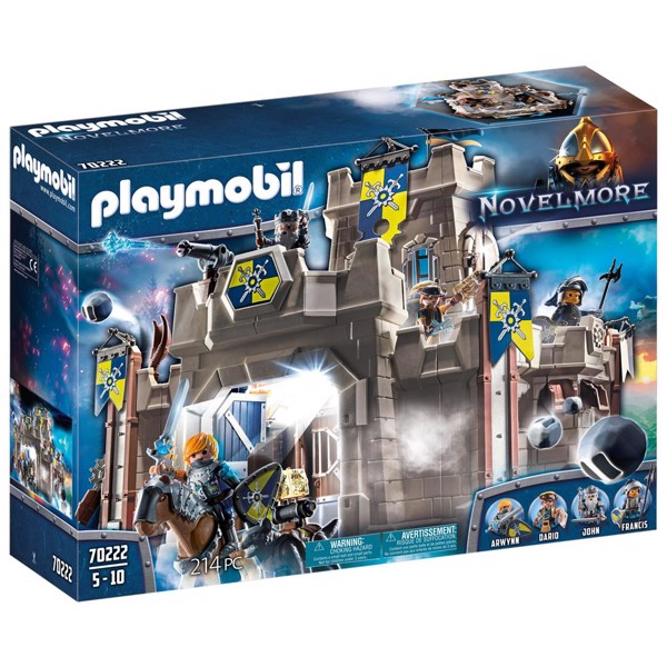 Image of Novelmore Fort - PL70222 - PLAYMOBIL Knights (PL70222)