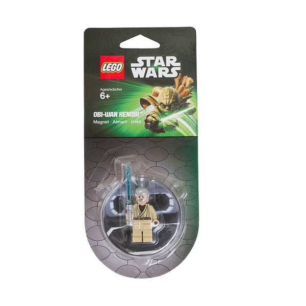 Image of Obi-Wan Kenobi køleskabsmagnet - LEGO Star Wars (850640)