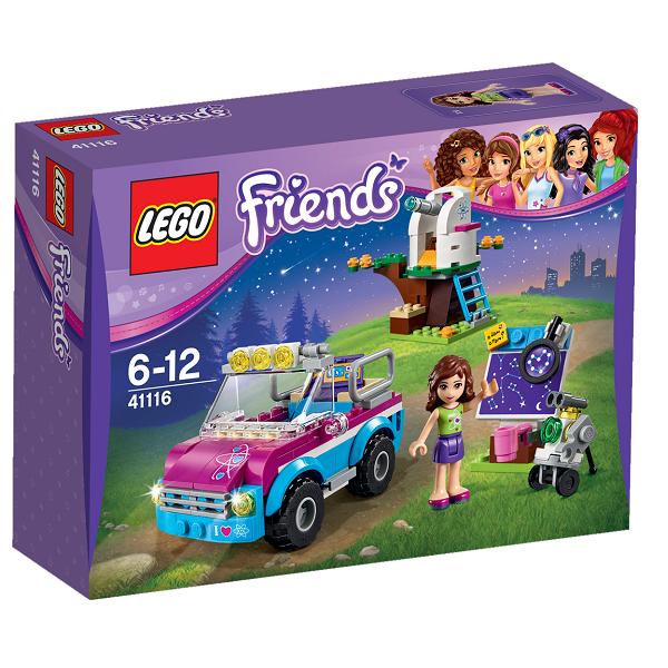Image of   Olivias ekspeditionsbil - 41116 - LEGO Friends
