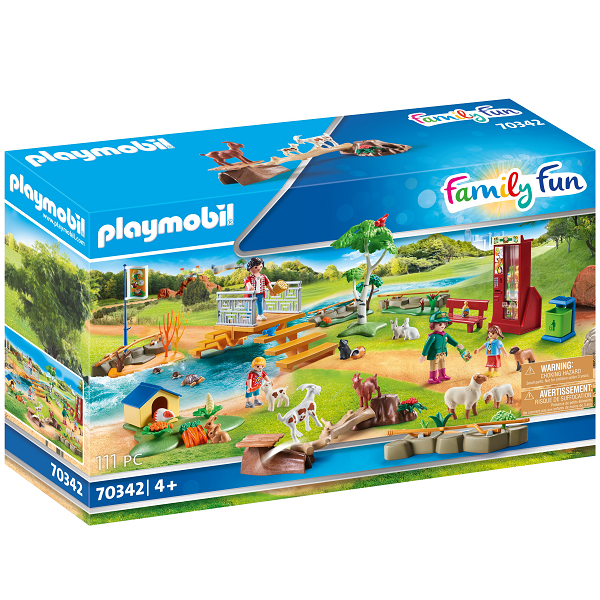 Image of Oplevelses-klappezoo - PL70342 - PLAYMOBIL Family Fun (PL70342)