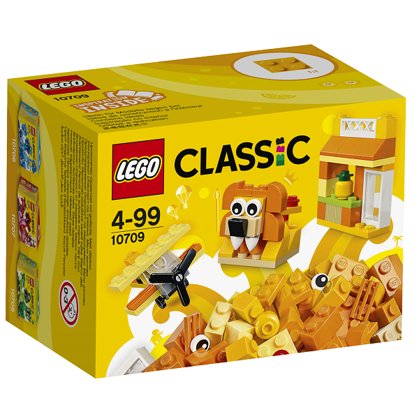 Image of Orange kreativitetssæt - 10709 - LEGO Bricks & More (10709)