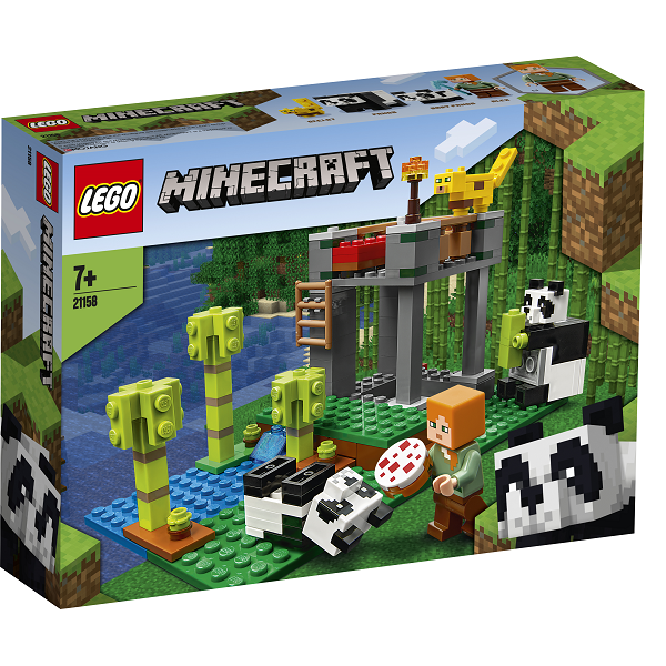 Image of Pandabørnehaven - 21158 - LEGO Minecraft (21158)