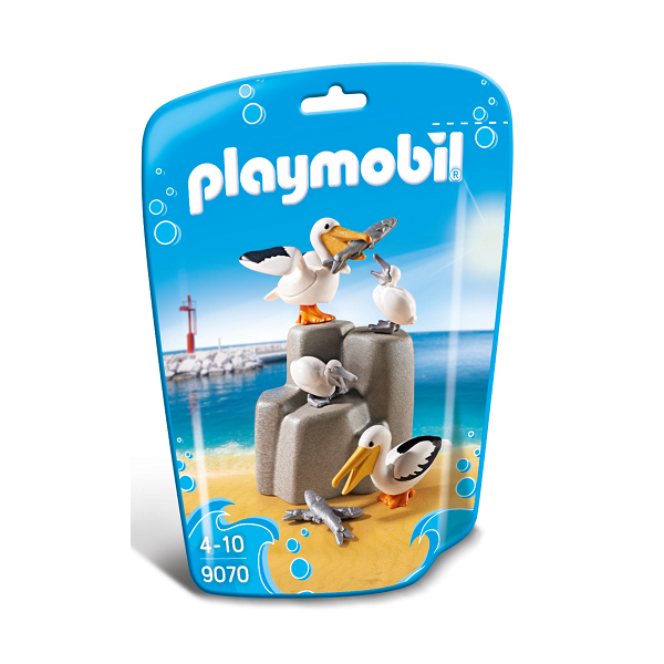 Image of Pelikanfamilie - PL9070 - PLAYMOBIL Family Fun (PL9070)
