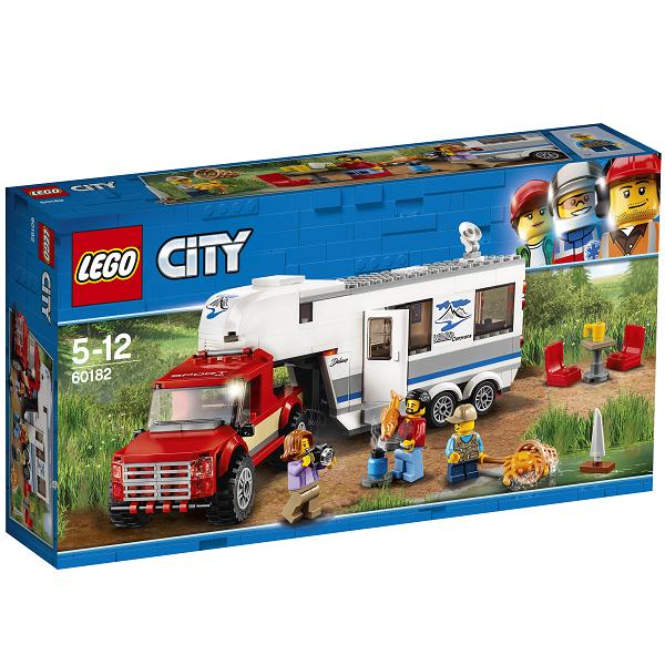 Image of Pickup og campingvogn - 60182 - LEGO City (60182)