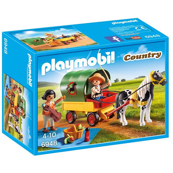 Picnic med ponyvogn - PL6948 - Playmobil Country
