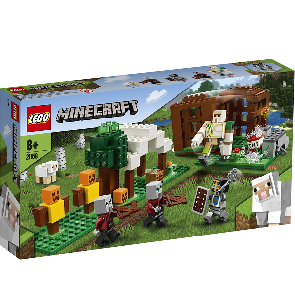 Image of Pillager-forposten - 21159 - LEGO Minecraft (21159)