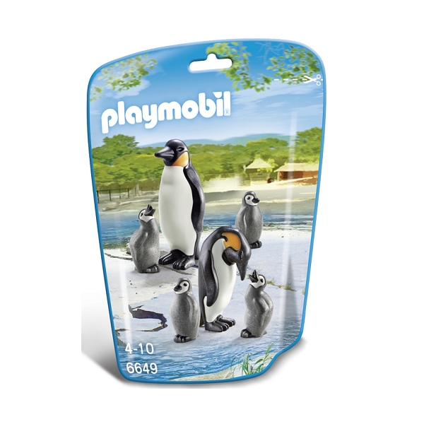 Image of Pingvinfamilie - PL6649 - PLAYMOBIL Wild Life (PL6649)