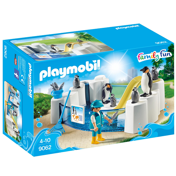 Image of Pingvinindhegning - PL9062 - PLAYMOBIL Family Fun (PL9062)
