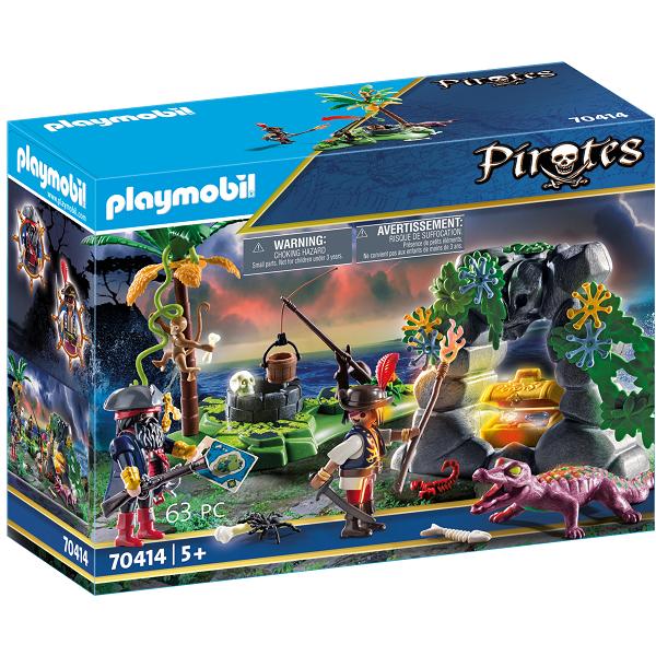 Image of Pirat-skatteskjulested - PL70414 - PLAYMOBIL Pirates (PL70414)