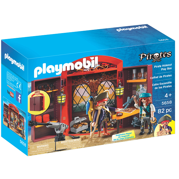 Image of   Pirates Legebox - PL5658 - PLAYMOBIL Pirates