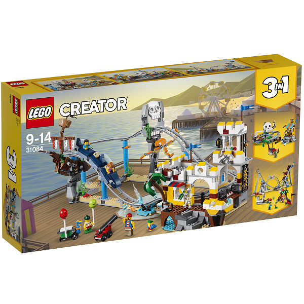 Image of Piratrutsjebane - 31084 - LEGO Creator (31084)