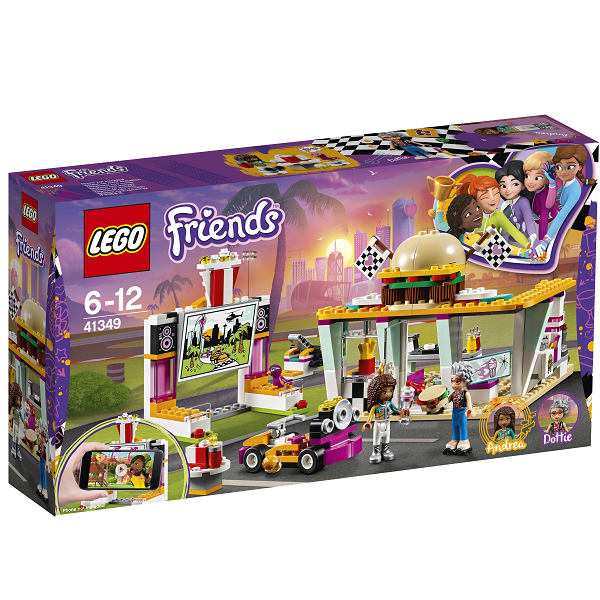 Pitstop-cafe - 41349 - LEGO Friends