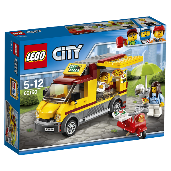 Image of Pizzavogn - 60150 - LEGO City (60150)