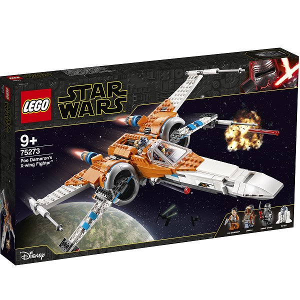 Image of   Poe Damerons X-wing-jager - 75273 - LEGO Star Wars