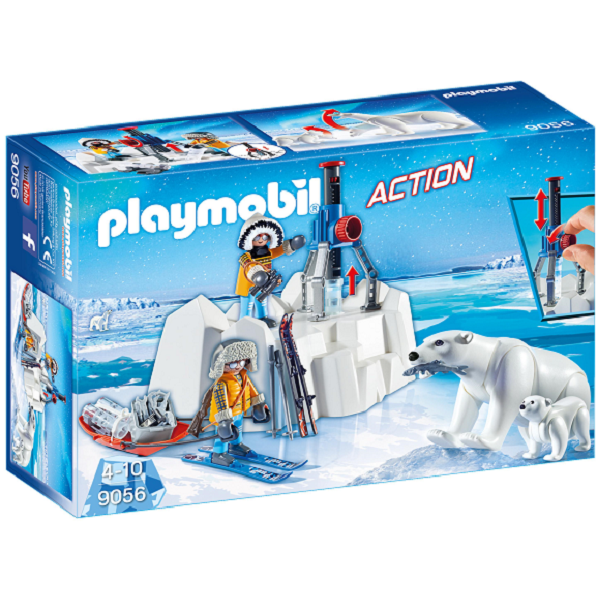 Image of   Polarforsker med isbjørne - PL9056 - PLAYMOBIL Action