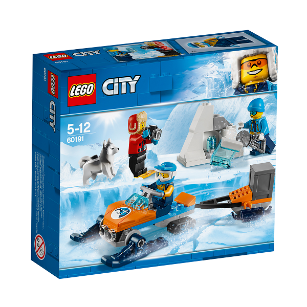 Image of Polarforskerteam - 60191 - LEGO City (60191)