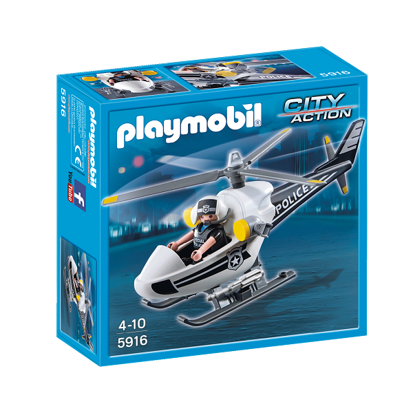 Image of   Politihelikopter - 5916 - PLAYMOBIL City Action