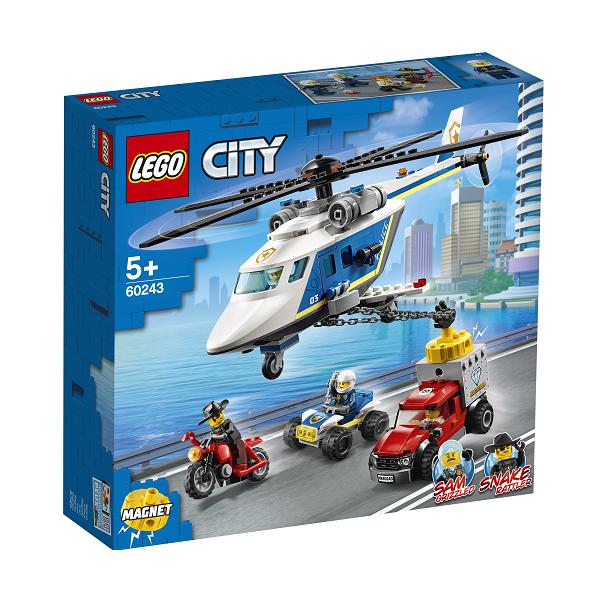 Image of   Politihelikopterjagt - 60243 - LEGO City