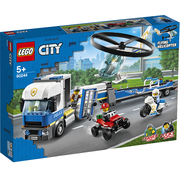 Image of Politihelikoptertransport - 60244 - LEGO City (60244)