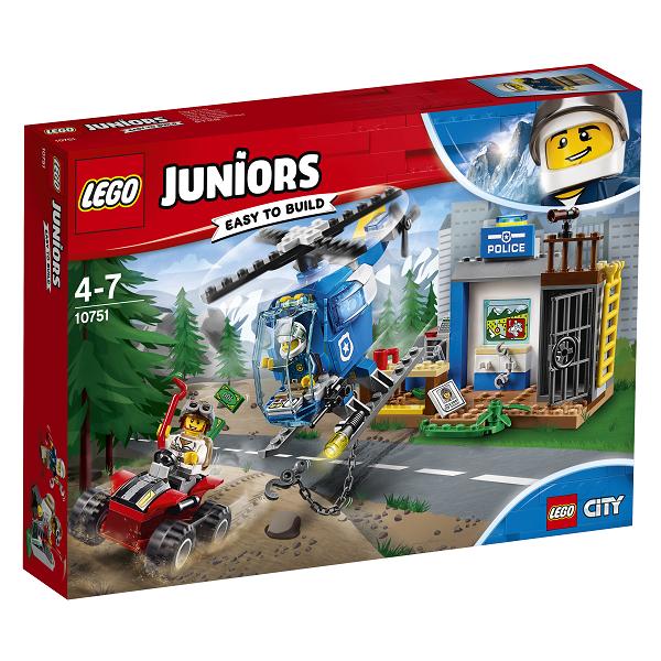Image of Politijagt i bjergene - 10751 - LEGO Juniors (10751)