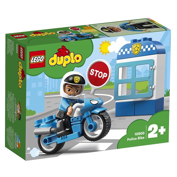 Image of Politimotorcykel - 10900 - LEGO DUPLO (10900)