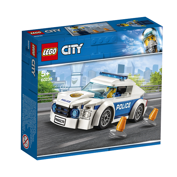 Image of Politipatruljevogn - 60239 - LEGO City (60239)