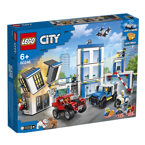 Image of Politistation - 60246 - LEGO City (60246)