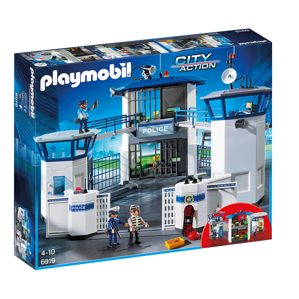Image of   Politistation med fængsel - PL6919 - Playmobil City Action