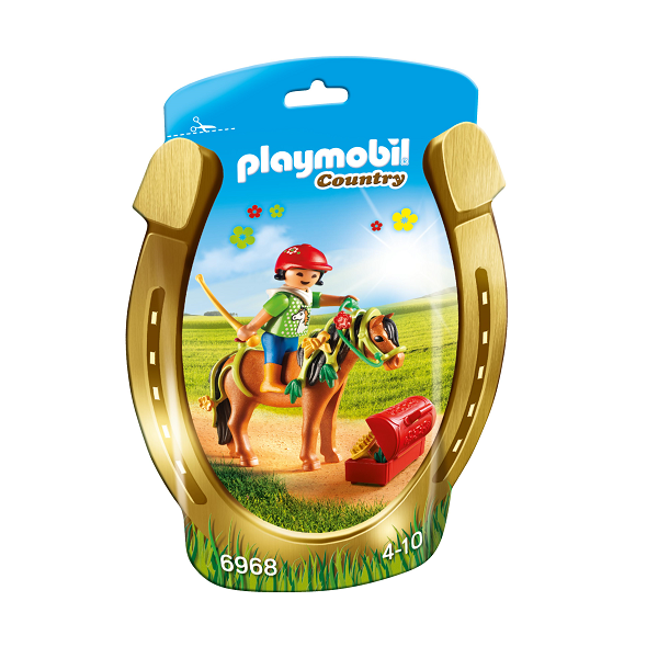 "Image of Ponyen ""Blomst"" til at pynte - PL6968 - Playmobil Country (PL6968)"
