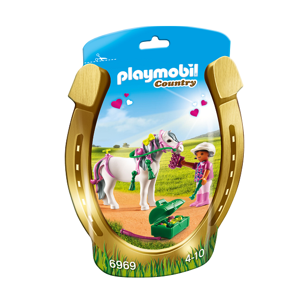 "Image of Ponyen ""Hjerte"" til at pynte - PL6969 - Playmobil Country (PL6969)"