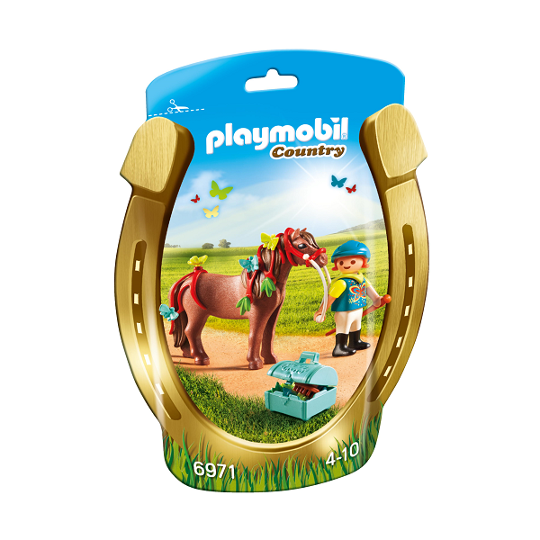 "Image of Ponyen ""Sommerfugl"" til at pynte - PL6971 - Playmobil Country (PL6971)"