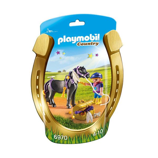 "Image of Ponyen ""Stjerne"" til at pynte - PL6970 - Playmobil Country (PL6970)"