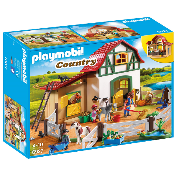 Image of   Ponypark - PL6927 - Playmobil Country