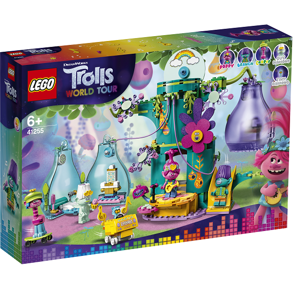 Image of Pop-landsbyfest - 41255 - LEGO Trolls (41255)