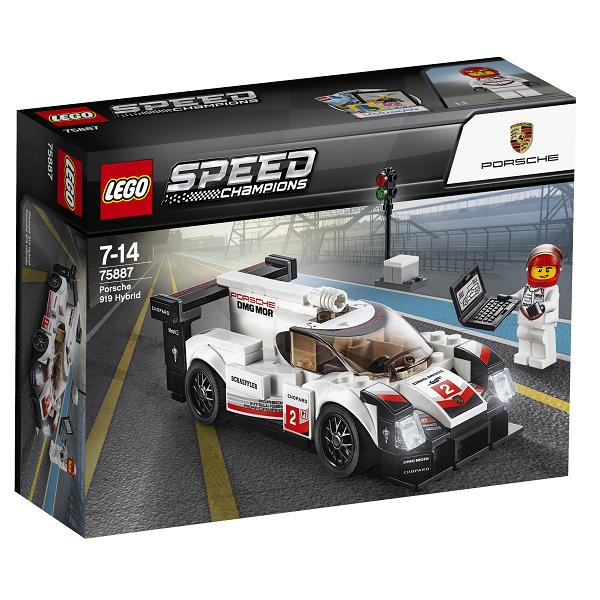 Image of Porsche 919 Hybrid - 75887 - LEGO Speed Champions (75887)