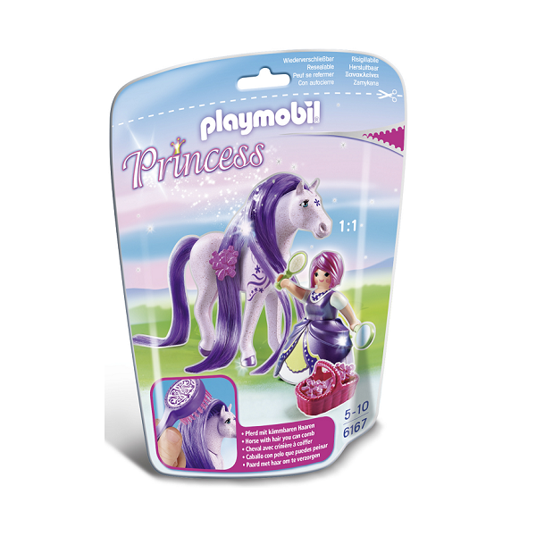 Image of Prinsesse Viola - PL6167 - PLAYMOBIL Princess (PL6167)